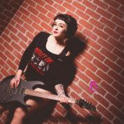 guitar boudoir photography
