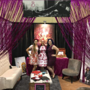 mellBella Team Cecilee, Wanda, and Mell Bell at their wedding show booth